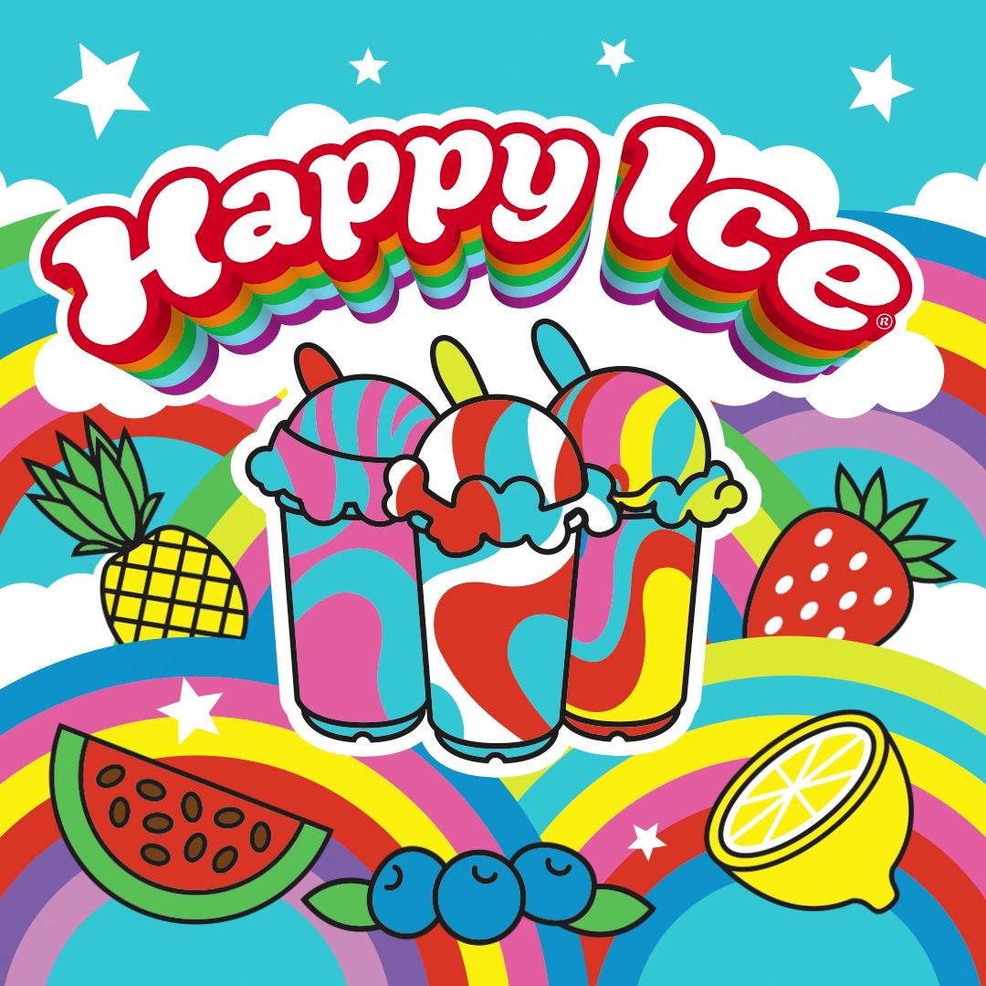 Happy Ice - Social Media animation, gif, animated gif illustration