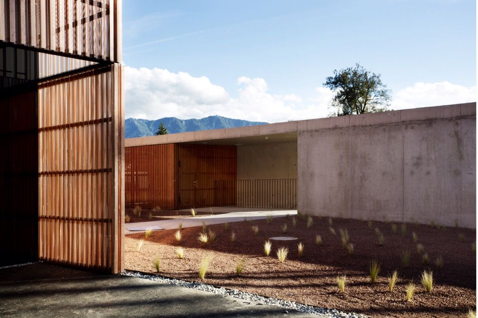 Dietger Wissounig Architekten Copper Detailing