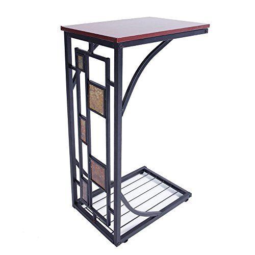 Sensational Tthebestshop99 Modern C Shape Coffee Tray Side Sofa Table Unemploymentrelief Wooden Chair Designs For Living Room Unemploymentrelieforg
