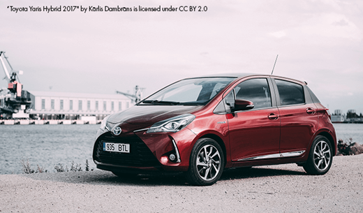 How does owning a brand new selfcharging Toyota Yaris