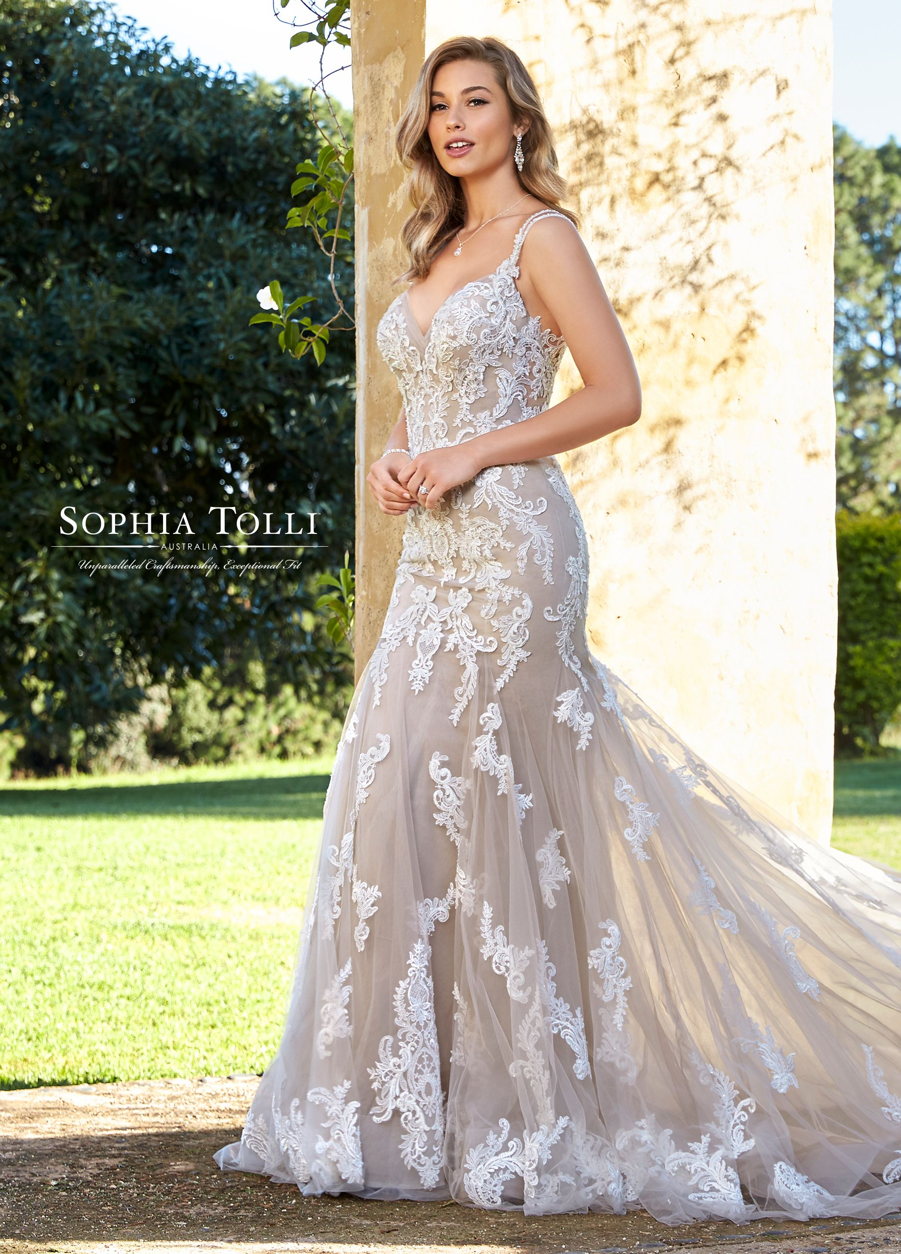 0535c76cab Sophia Tolli Y11957A Marley - Seductive and chic – fit and flare gown  Marley will take your breath away. A stretch jersey base for the most  comfortable and ...
