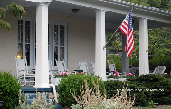 Country Home Designs | Front porches, Porch and Columns