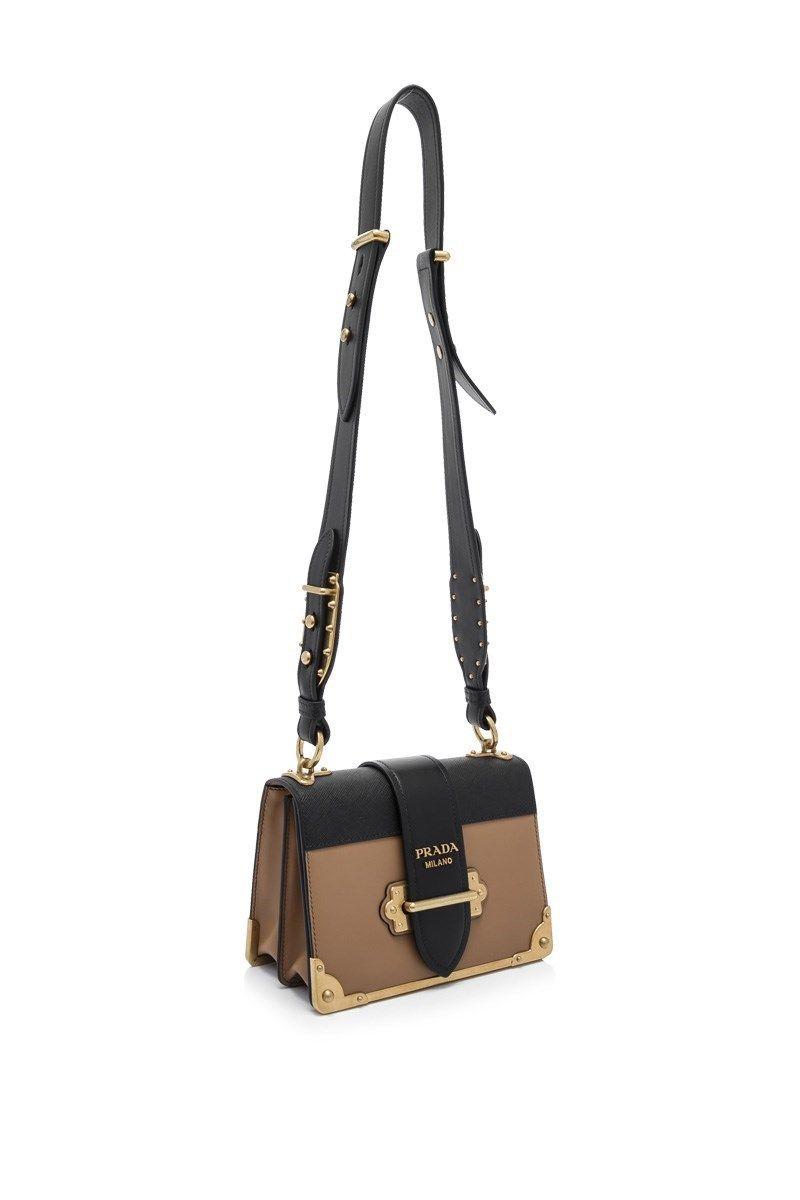 aac639919377 Prada - Prada City Calf Saffiano Cahier Crossbody | Fashion | Prada ...