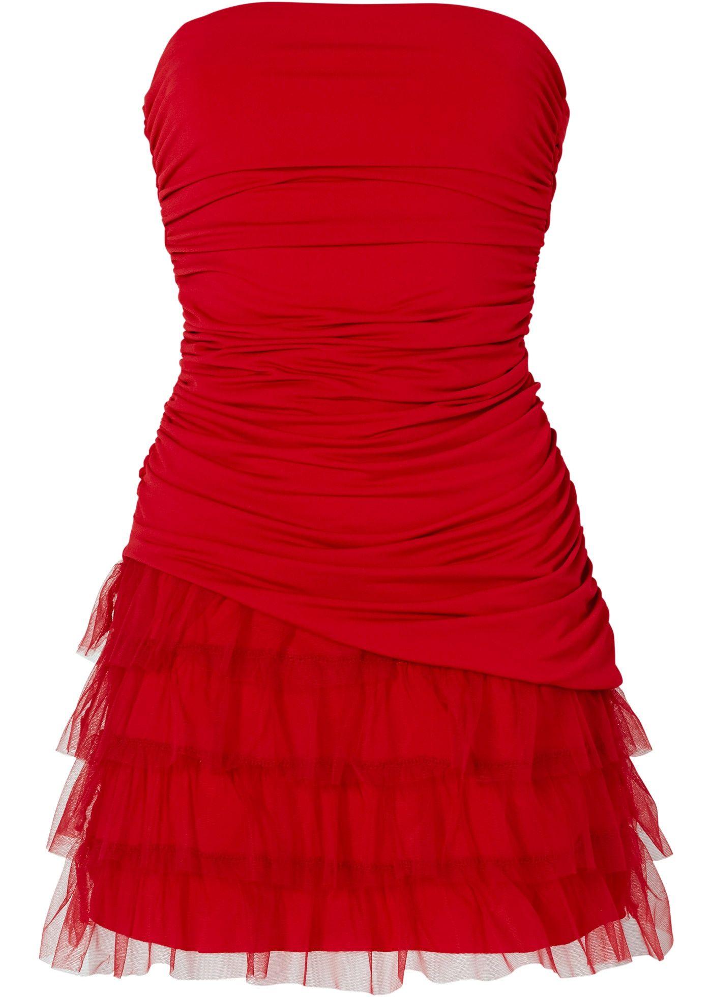 bonprix rode jurk