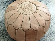 I Ll Have Cool Moroccan Poufs In My Relax Center Leather