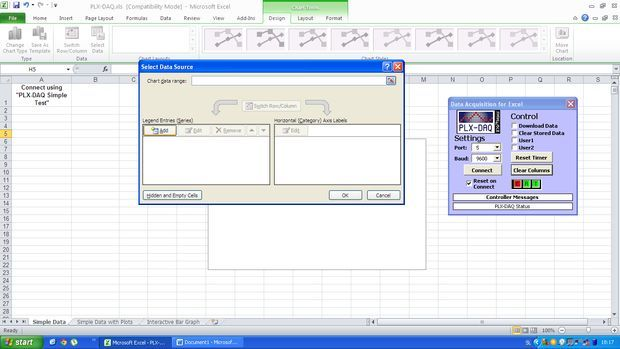 Sending Data From Arduino to Excel (and Plotting It