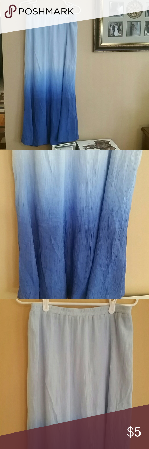 Light Weight Maxi Skirt Maxi skirt, Maxi, Gradient color