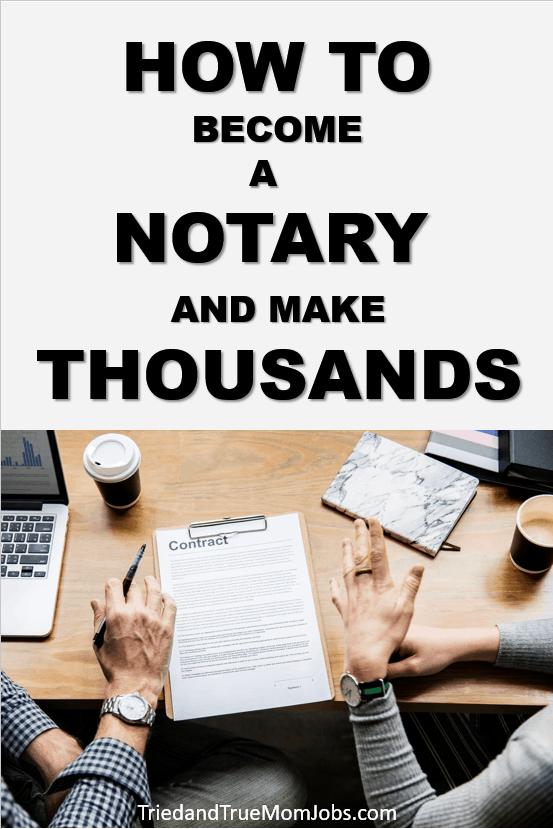 Do you want to become a Notary? I'm going to show you how to become a Notary from someone who does this today. See how she makes thousands.