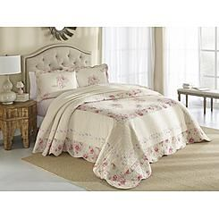 Cannon Embroidered Bedspread – Rosie