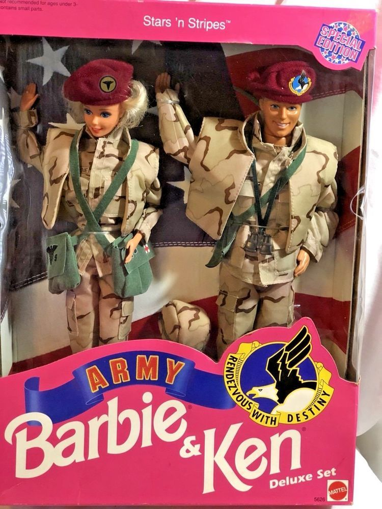 Barbie Army Special Edition Bambole E Accessori