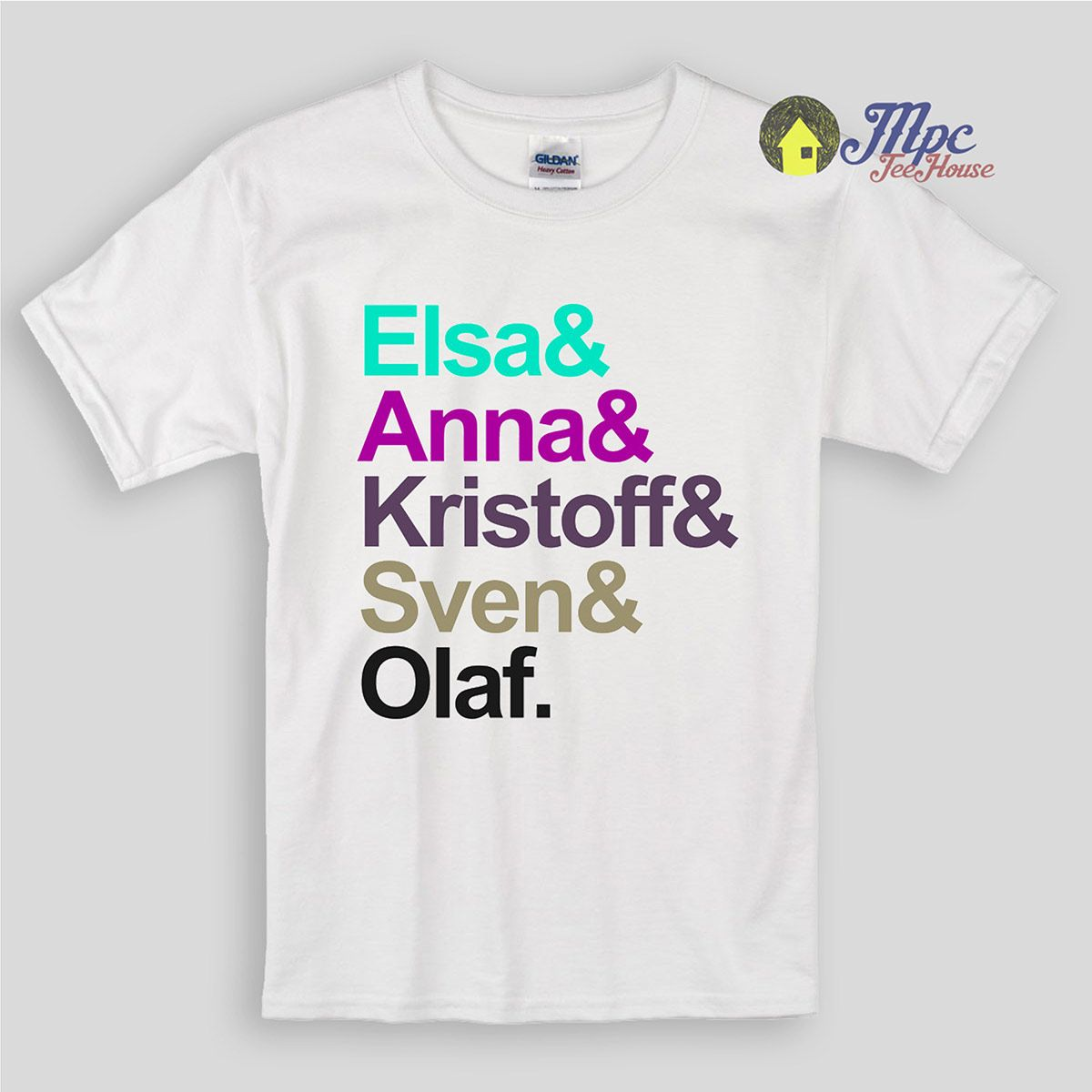 Frozen Family Kids T Shirts suitable for boys and girls