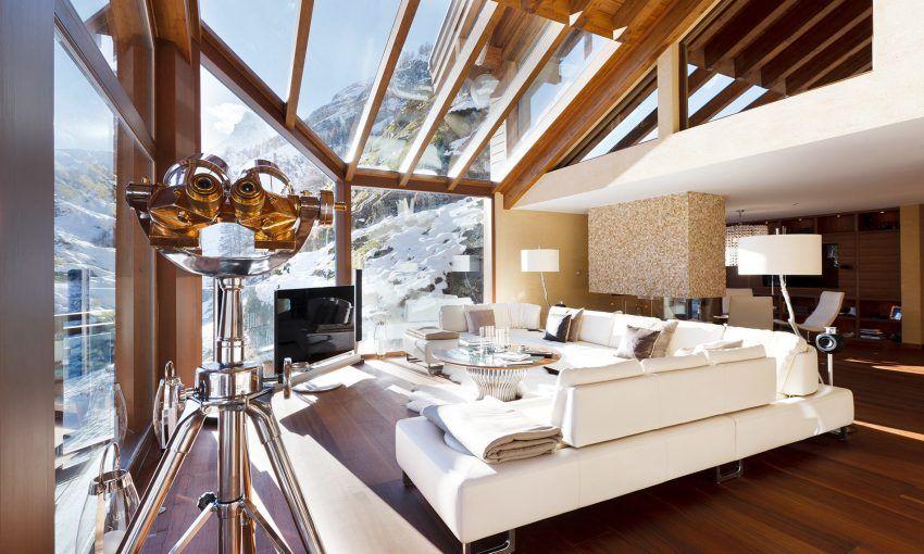 Luxuriöste atemberaubendste Chalets der Alpen Luxusurlaub - wohnzimmer luxus design