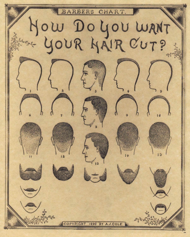 barber shop vintage barber