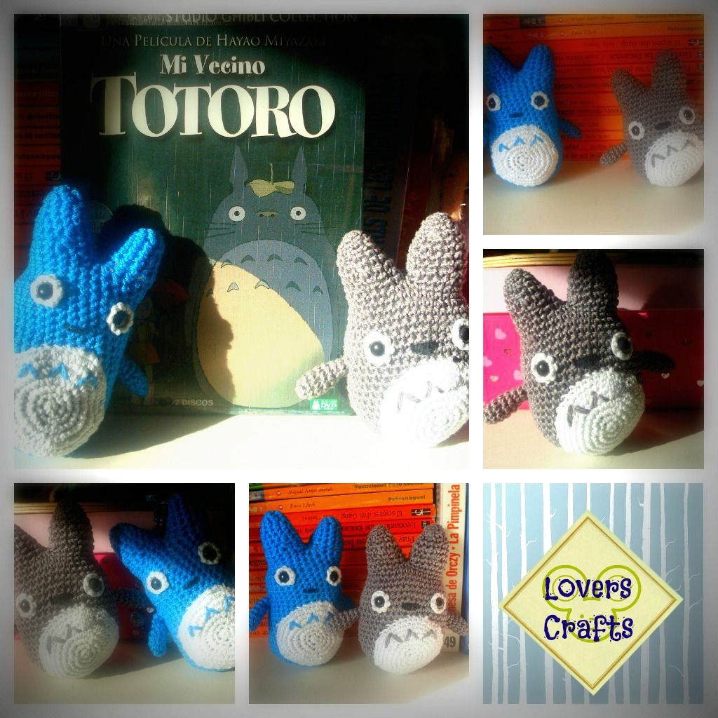 Amigurumi Mini Totoro ~ Free Pattern | Free crochet patterns ...