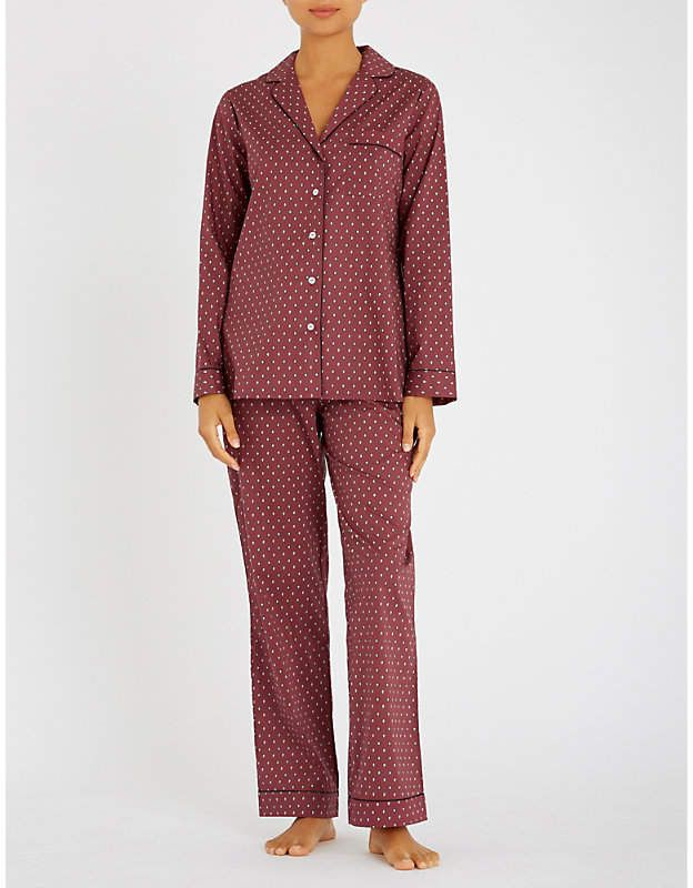 7fd5dc8b1b Yolke Paisley-print cotton pyjama set