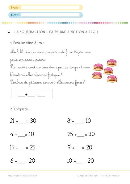 Epingle Sur Exercices De Maths Cp Mathematiques Cp