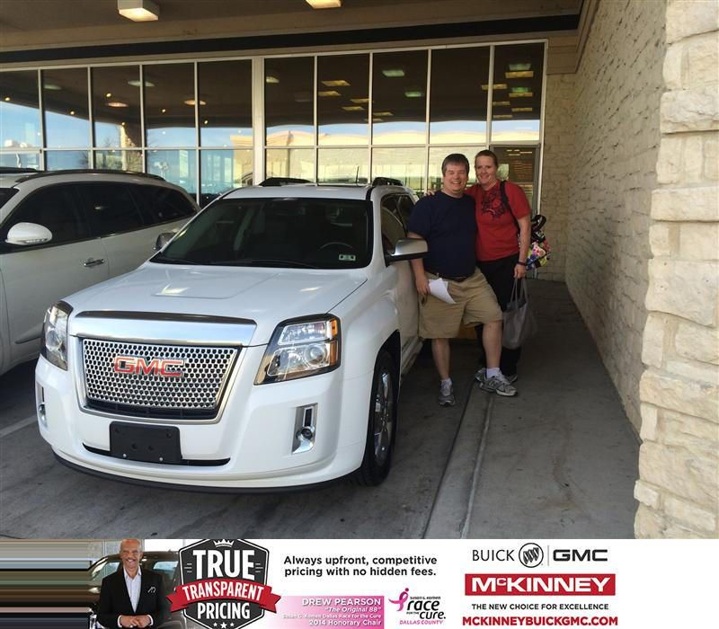 Congratulations To David Hammond On Your Gmc Terrain Purchase
