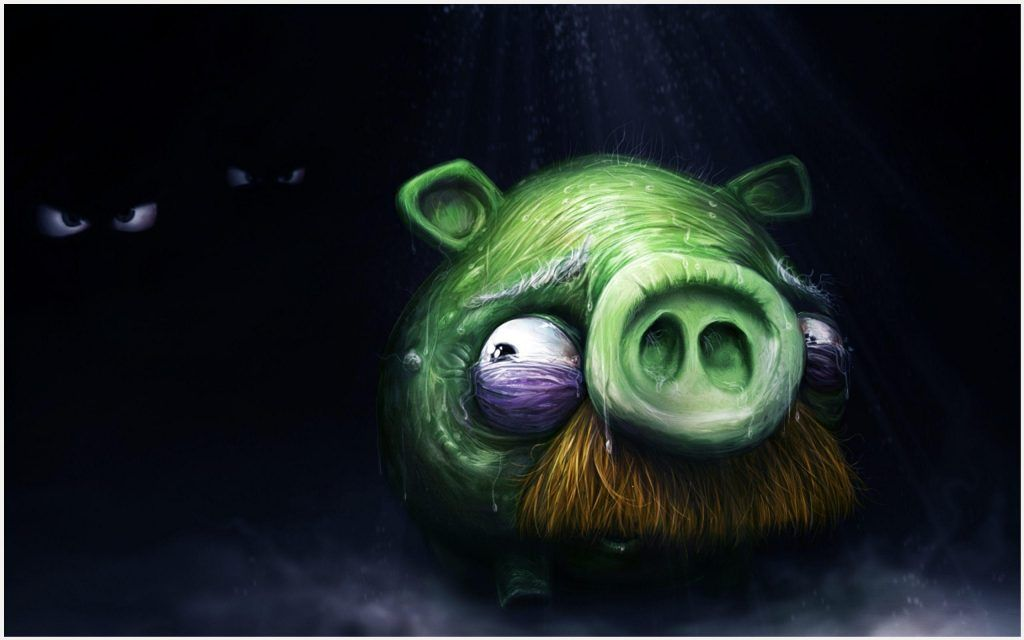 Angry Birds King Pig Wallpaper