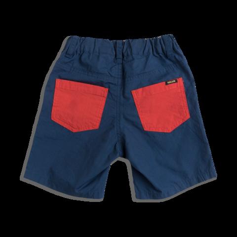 Typewriter Cloth Shorts - Navy Blue
