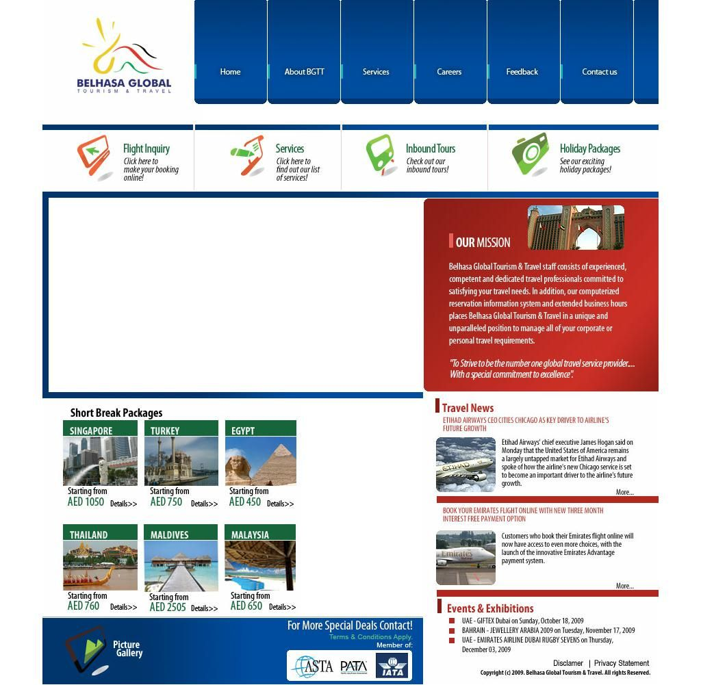 Belhasa Global Tourism Travel Company Oman House, 141, Al Nahda Road