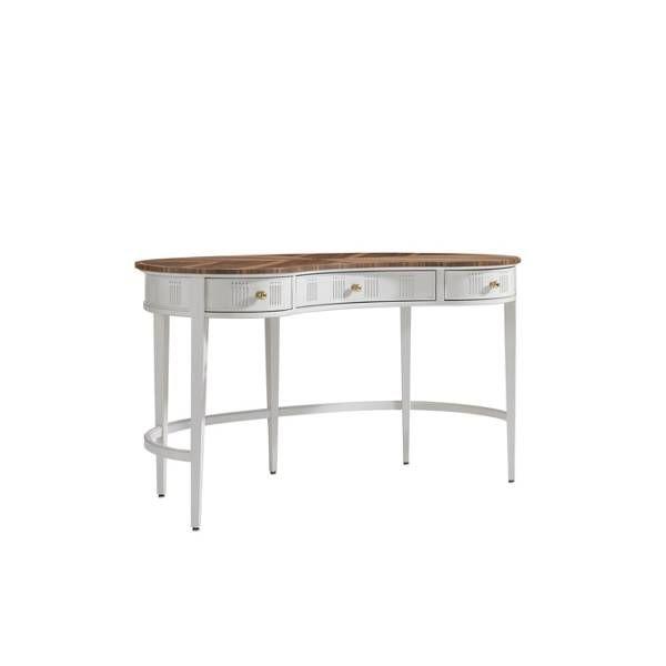 Charleston Regency-Pinckney Kidney Desk - Stanley Furniture