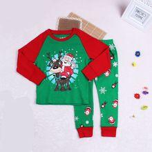 97b35dd1098e Christmas Christmas Children Clothing Boys Suits Girls Santa Claus ...