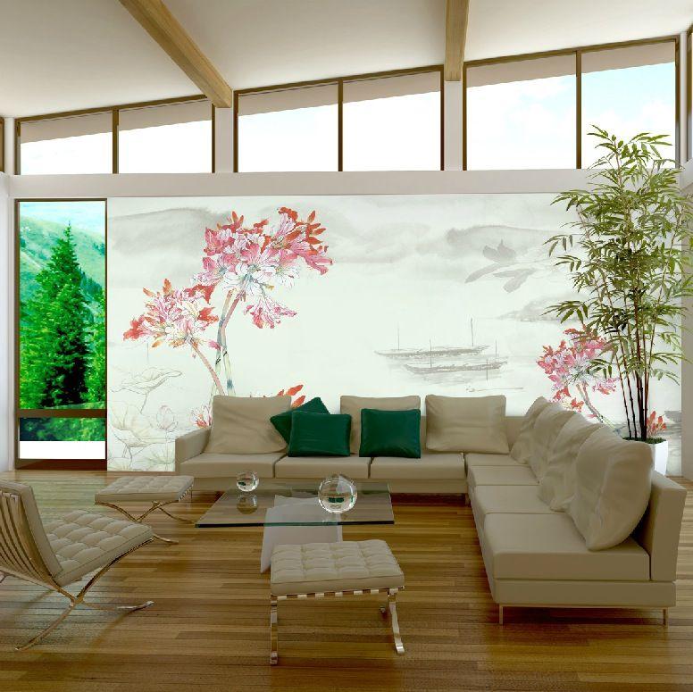 Trik Dan Tips Dalam Memilih Hiasan Wallpaper Dinding Ruang Tamu Secara Tepat Sederhana