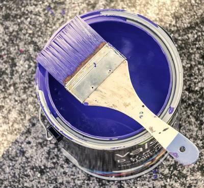 Pintar Con Brocha Sin Dejar Marcas De Pintura Wall Painting Techniques Chalk Paint Chalk