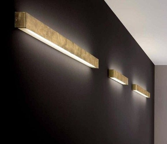 Wide Diy Friendly Box Sconces For Indirect Lighting Would