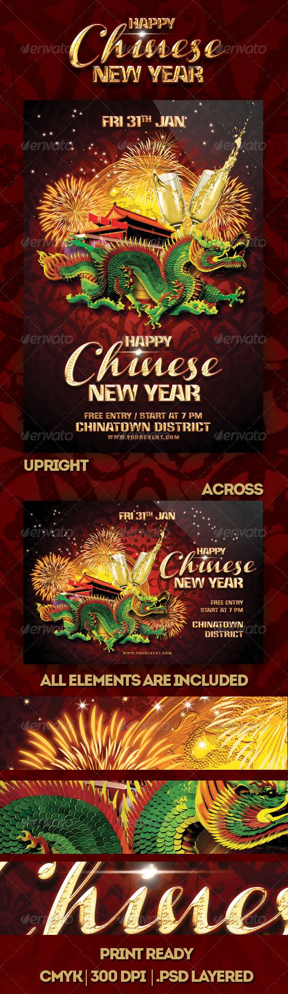 happy chinese new year flyer flyers chinese new years and happy happy chinese new year flyer a celebration of new year modern and dazzling flyer design template for invitation to chinese new year event