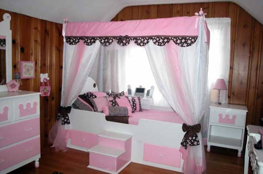 2014 Canopy Beds For Girls