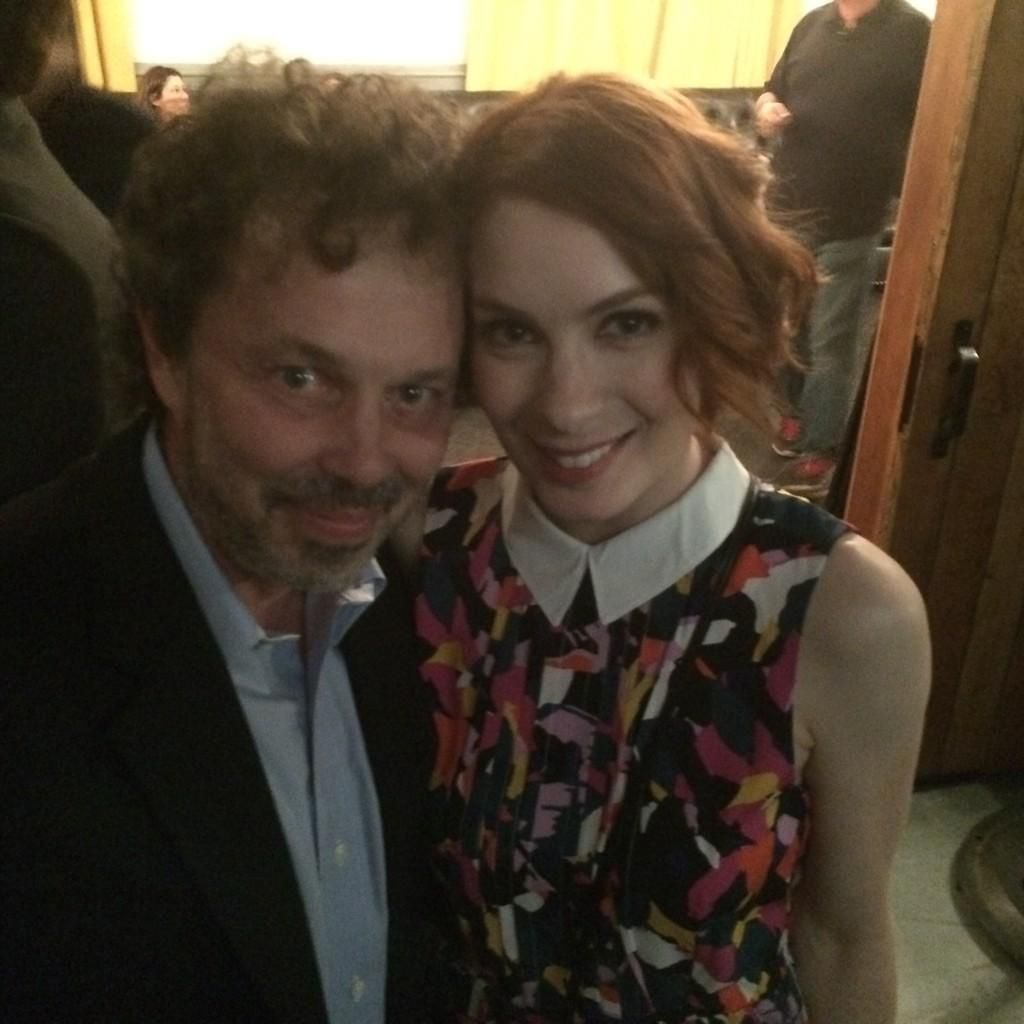 Curtis and Felica at the SPN200th party in LA