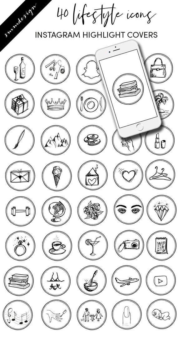 Aesthetic Spotify Icon White