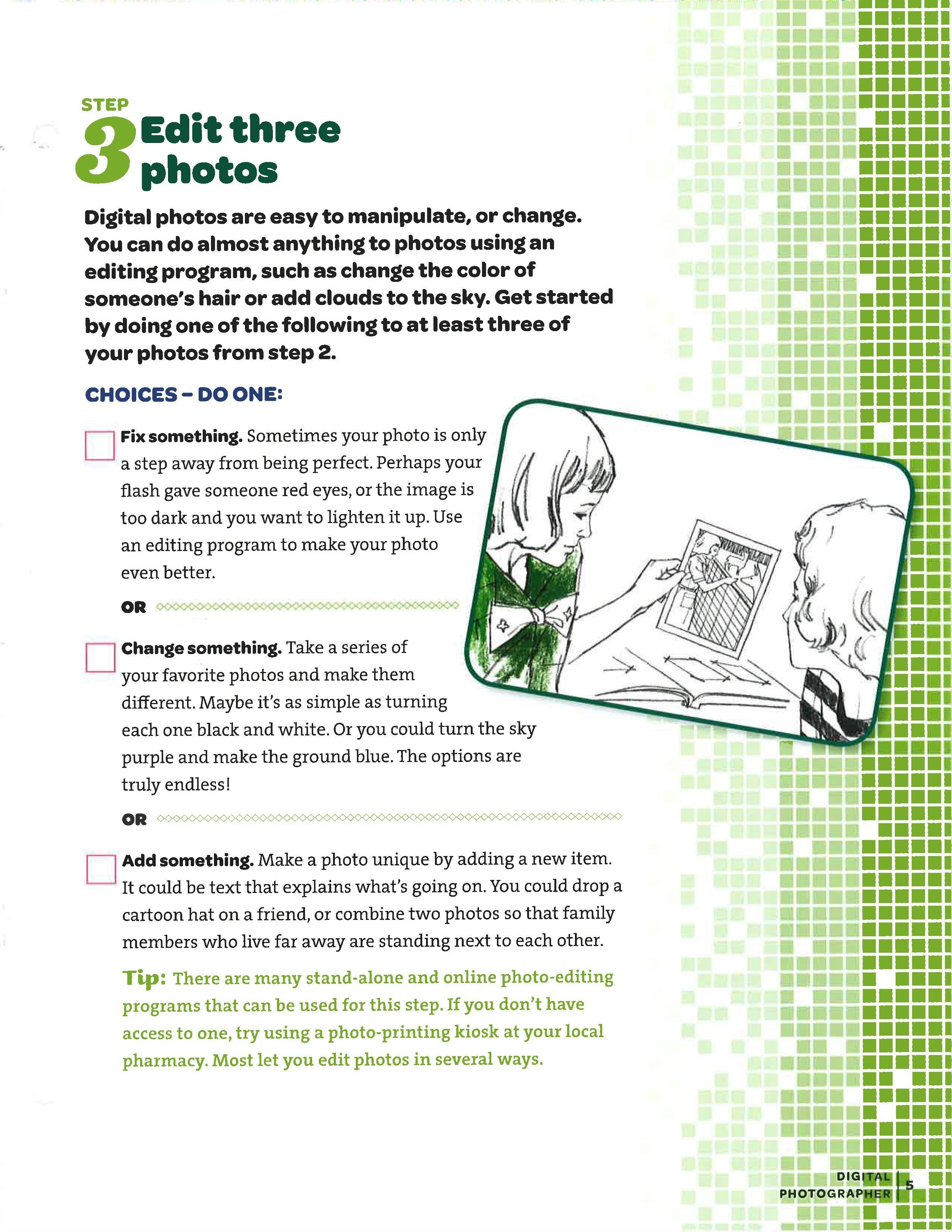 Junior Digital Photography Badge Requirements Pdf