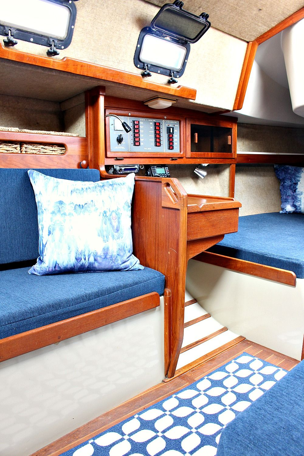 Ahoy Tour Our Updated Ticon 30 Sailboat Interior Boat Interior