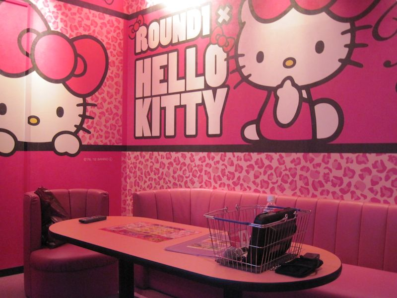 Sweet Hello Kitty House With Pink Interior Decoration Home Interiors