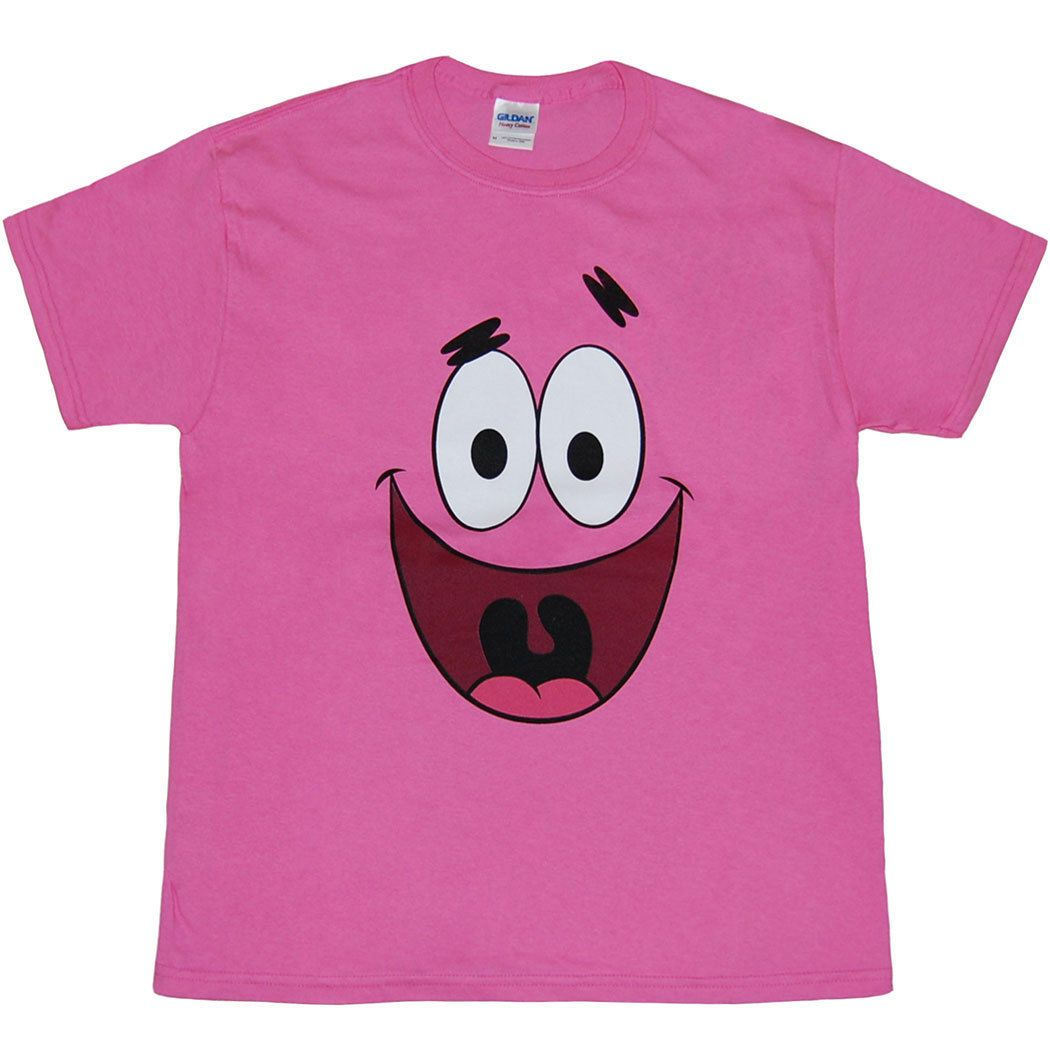 43f1eb1d1 $12.99 - Spongebob: Patrick Star Face Youth Kids T-Shirt #ebay #Fashion