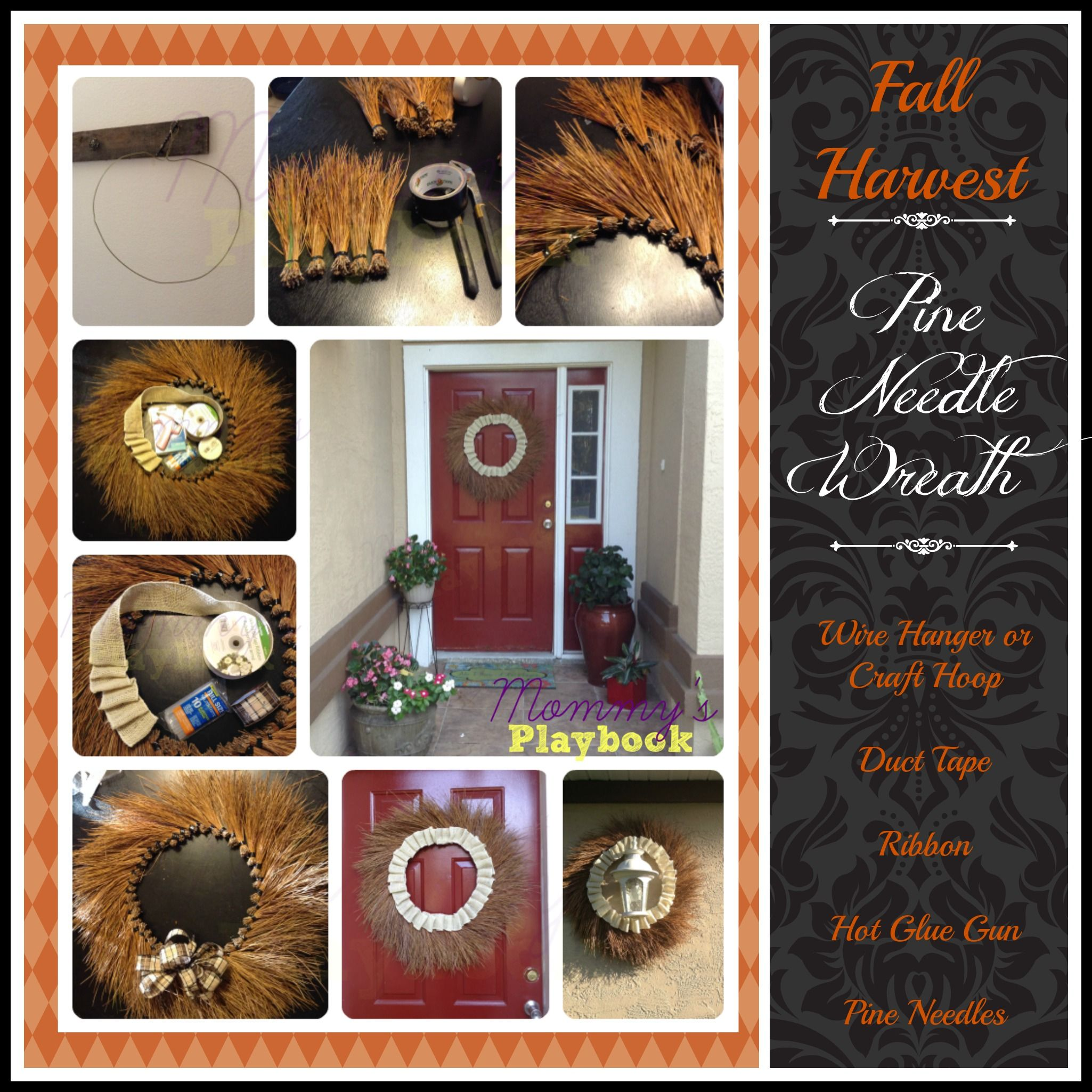 Yard Wasted Autumn Door Decorations Fall Stuff Pinterest Yard - Halloween Door Decoration Ideas