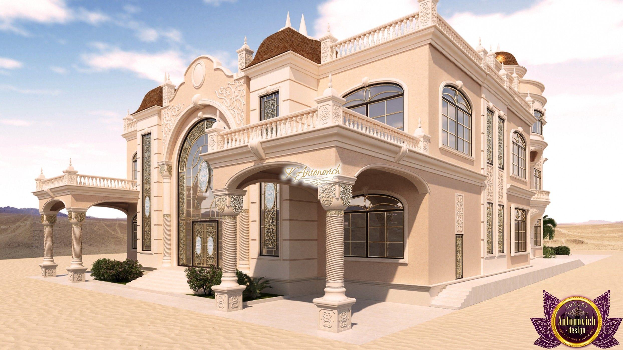 Luxury Arabic Villa Exterior Design Dream Mansion Modern Houses Interior