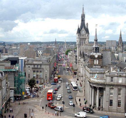 University Of Aberdeen Scotland The Granite City Really Does Sparkle In The Sun Aberdeen Scotland Aberdeenshire Edinburgh Scotland