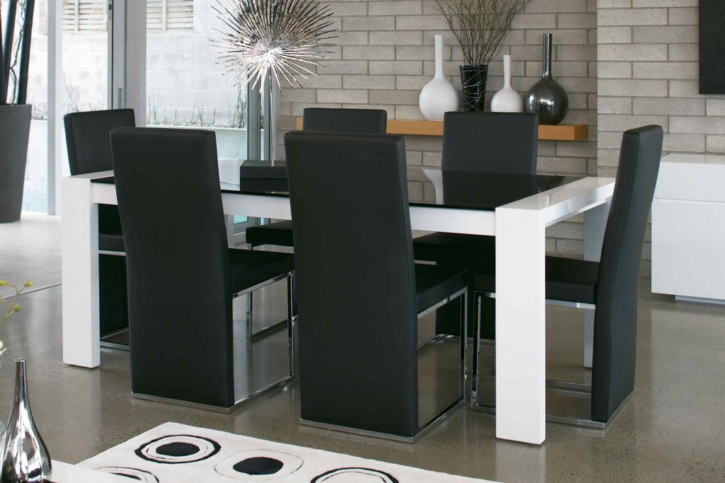 Milano dining furniture from insato from harvey norman new for Dining room tables harvey norman