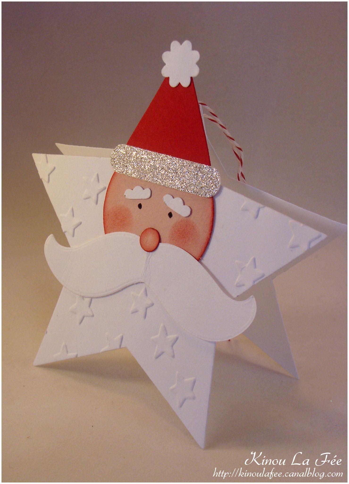 Carte Père Noël Etoile 1 | Carte noel, Pere noel, Cartes de noël à