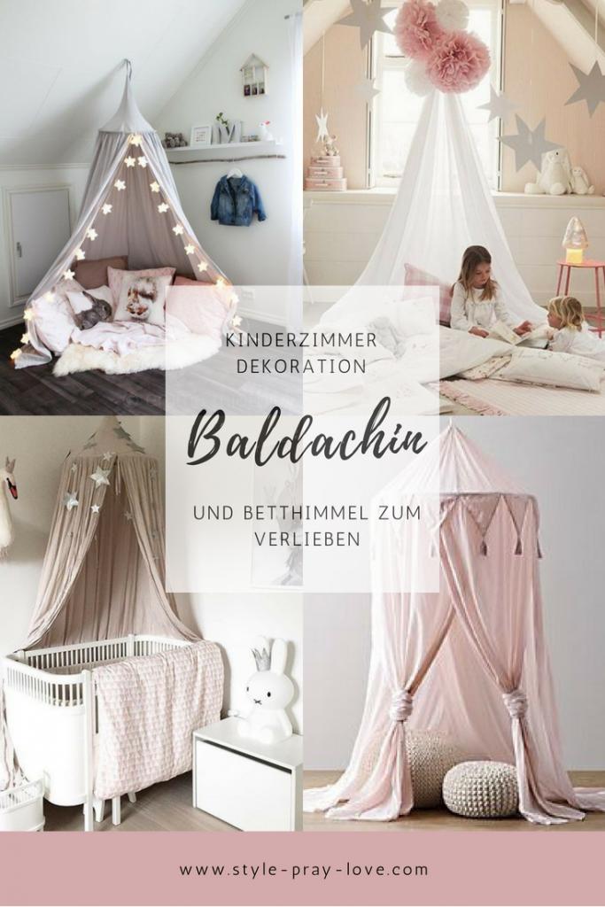 Photo of Süße Baldachine und Betthimmel fürs Kinderzimmer • style-pray-love