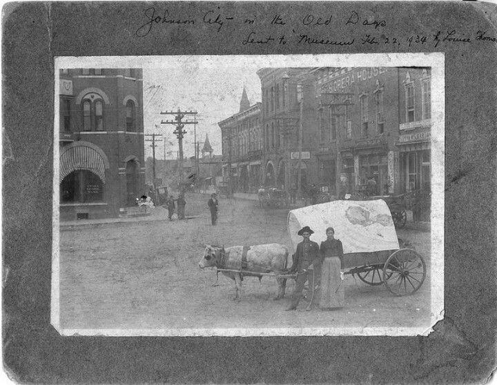 Johnson City Tn 1890 Johnson City History Tennessee