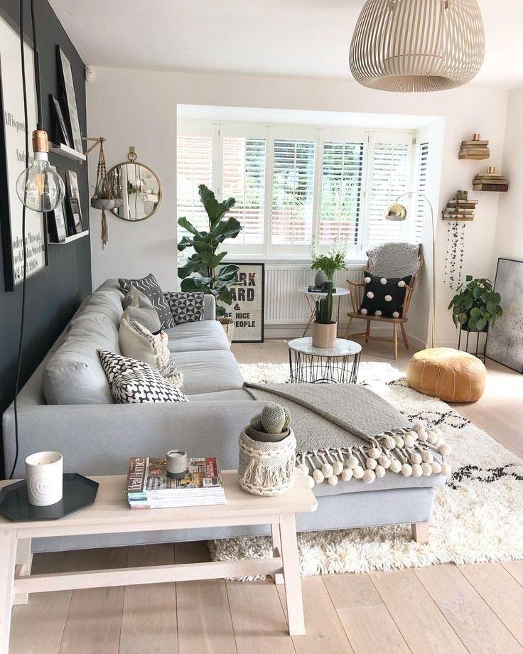 Photo of 67 inspirerende, moderne stueinnredningsidéer for små leiligheter som …