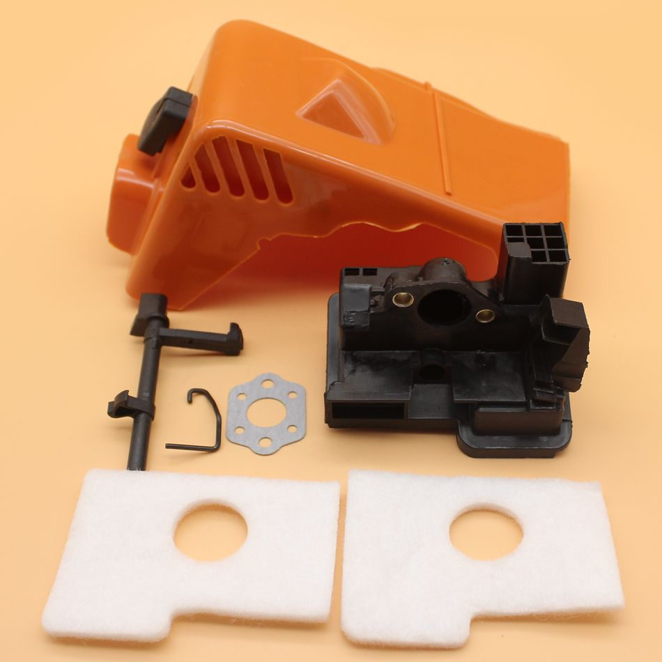 Top Engine Cylinder Cover Carburetor Adapter Air Filter Kit For Stihl Ms180 Ms170 Ms 180 170 018 017 Gas Chainsaw Spare Parts E Air Filter Gas Chainsaw Stihl