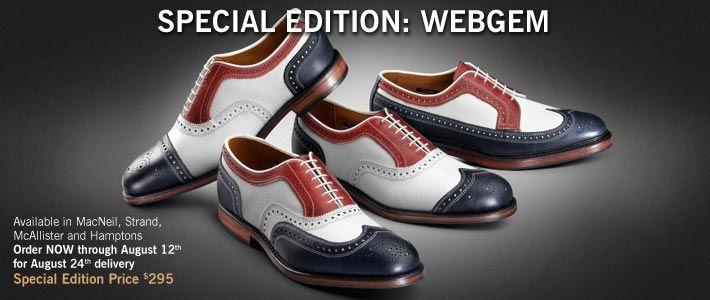 Allen Edmonds Special Edition: WebGem