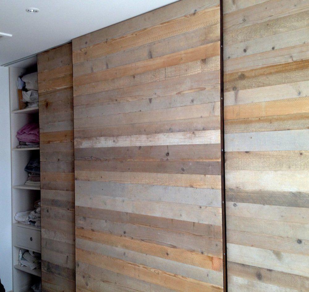 portes dressing en bois brut id es d co pinterest. Black Bedroom Furniture Sets. Home Design Ideas