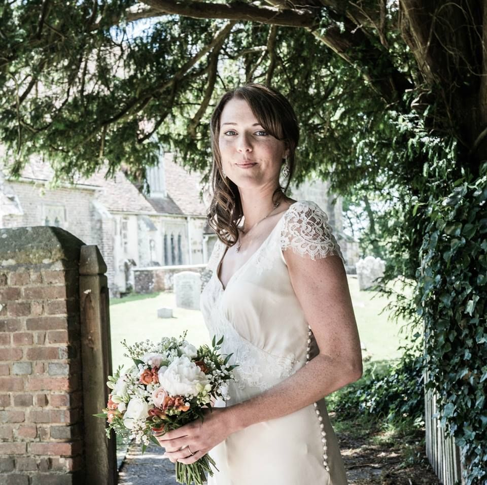 Bias cut thirties style wedding dress handmade bridal hair dana bolton is a wedding dress designer based in london who specialises in beautiful vintage lace wedding dresses ombrellifo Gallery
