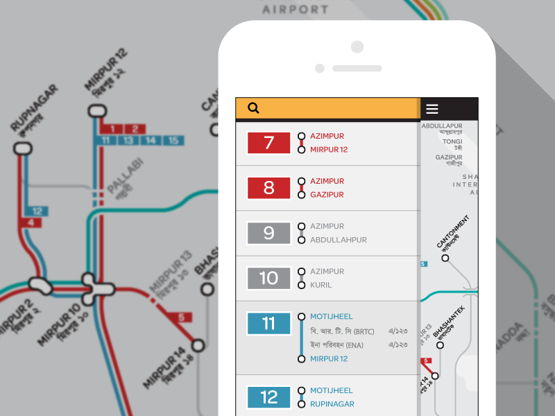 Best 25 bus map ideas on pinterest map of underground montreal digital bus map of dhaka sciox Images